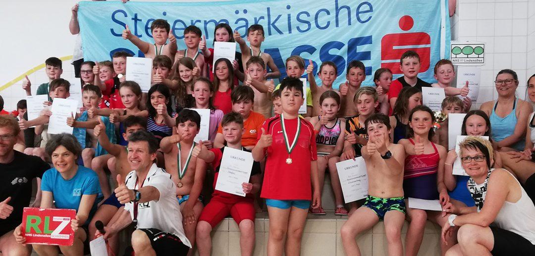 Bezirksschwimmen im Schwimmbad Knittelfeld