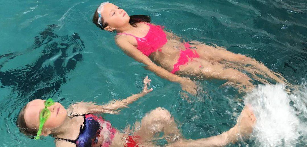 Schwimmbadbesuch