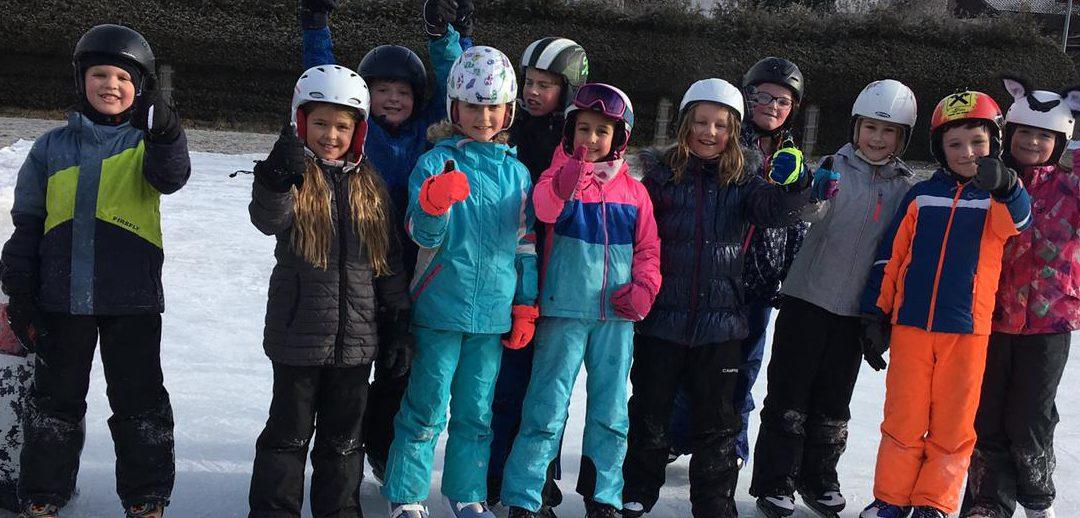 Eislaufen 4a Klasse