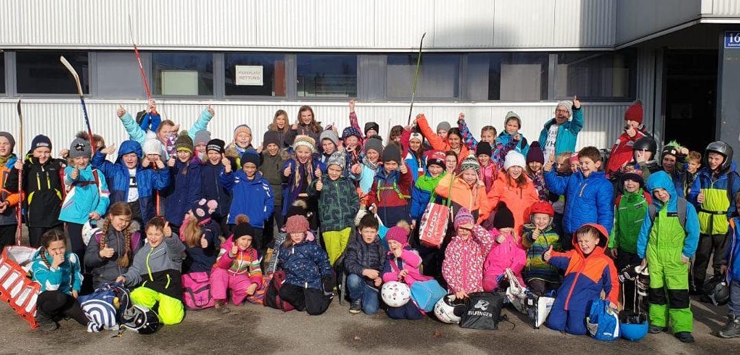 Eislaufen 3. Klasse